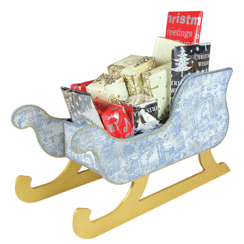 Large Sleigh Cartonnage Only