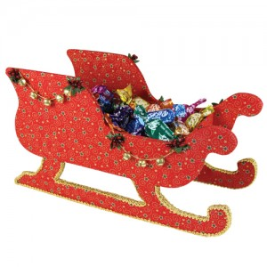 Medium Sleigh Cartonnage Only