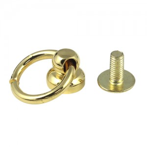 Brass Knob With Ring