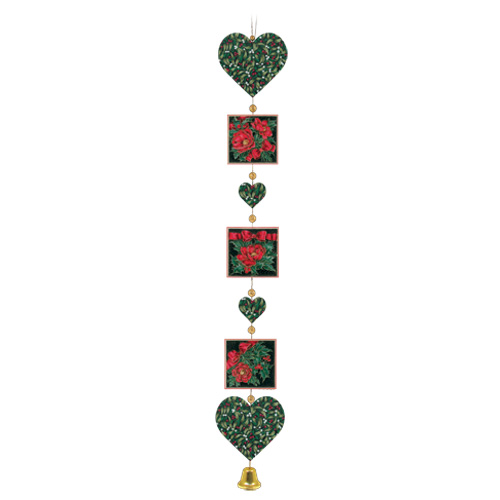 Christmas Rose Wall Hanger