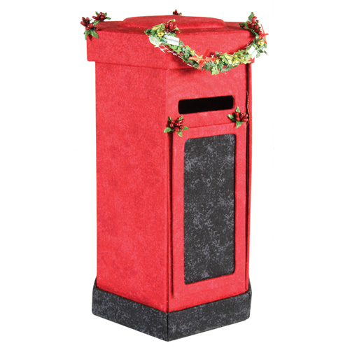 Post Box Kit With Fabric