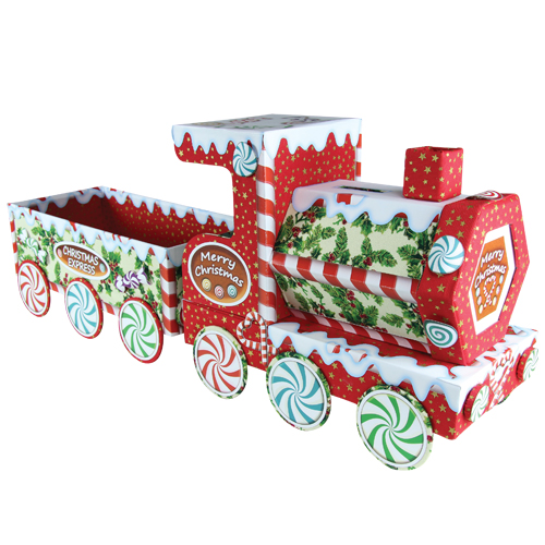Christmas Train Kit With Fabric