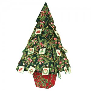Christmas Tree Surprise With Fabric