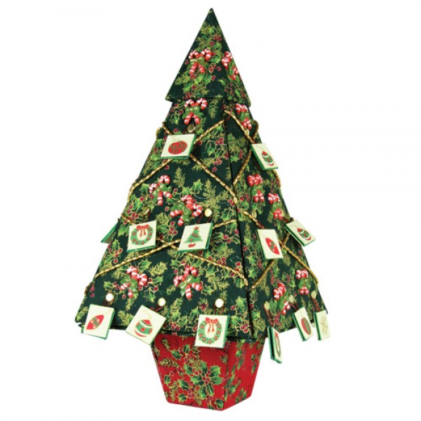 Tree Surprise With Fabric