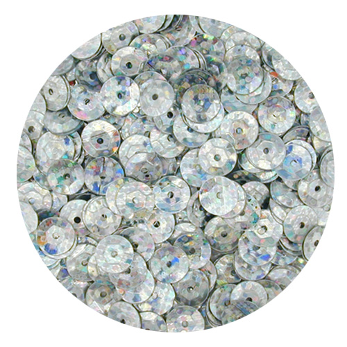DD601 Silver 8mm Hologram