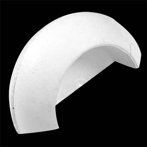 "Cut 2 1/2"" (63mm) Half Cut Out Saturn"
