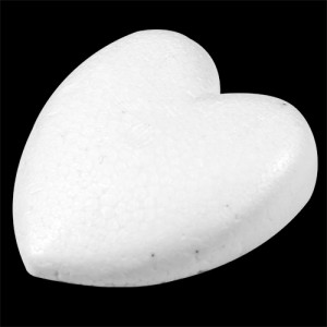 "Cut 2 1/2"" (63mm) Half Heart"