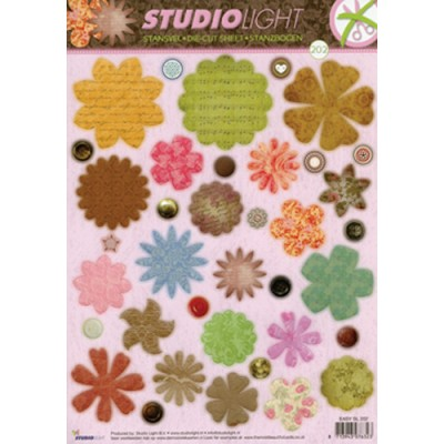 Flower Shape Die-Cuts