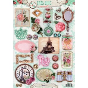 Tres Chic A4 Die Cut