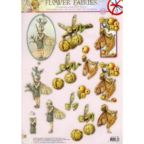 Flower Fairy A4 Die Cut
