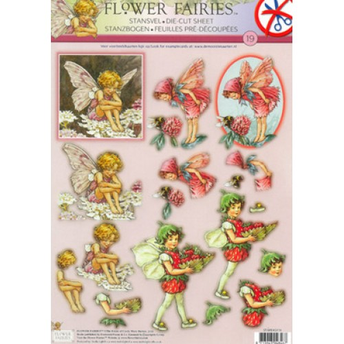 Flower Fairy A4 Die Cut