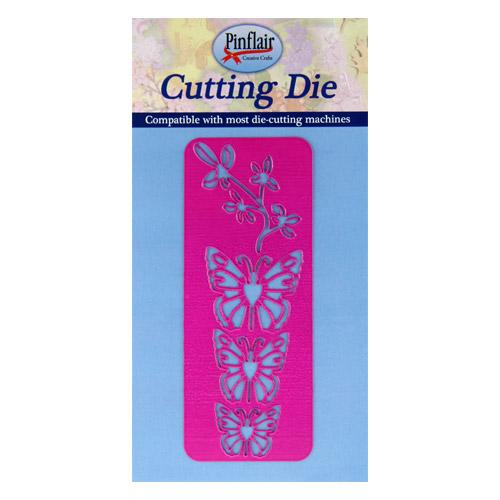Flowers & Butterflies Cutting Die