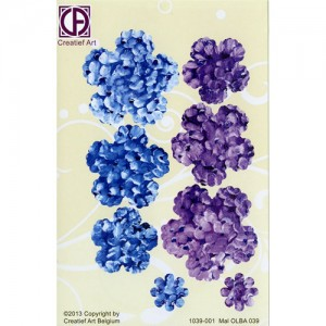Floral Background Paper (STL039-001)