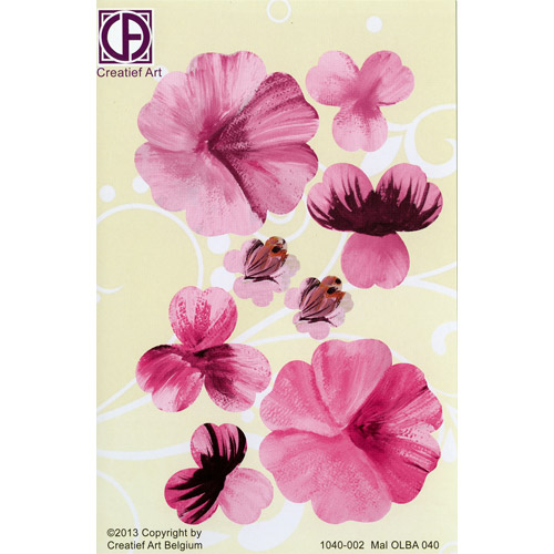 Floral Background Paper (STL040-002)
