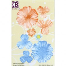 Floral Background Paper (STL040-003)