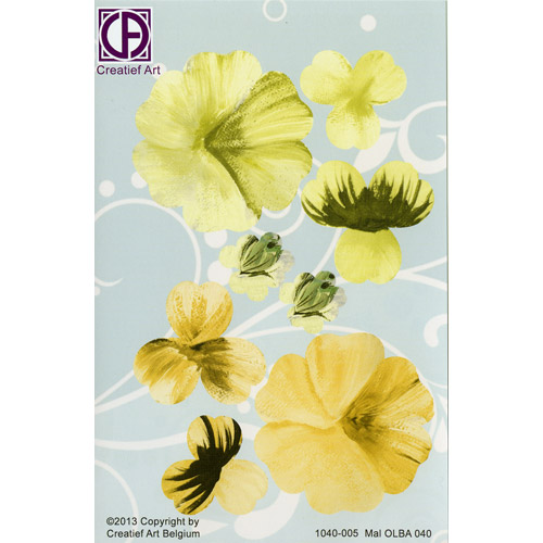 Floral Background Paper (STL040-005)