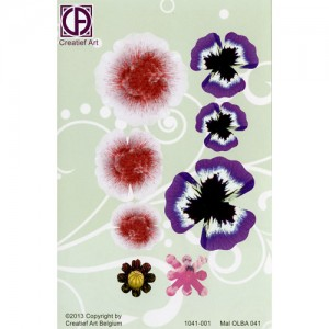 Floral Background Paper (STL041-001)