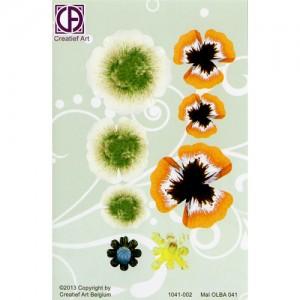 Floral Background Paper (STL041-002)