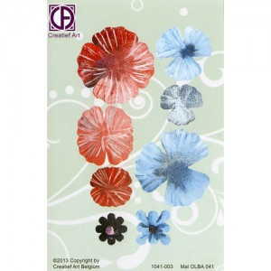 Floral Background Paper (STL041-003)