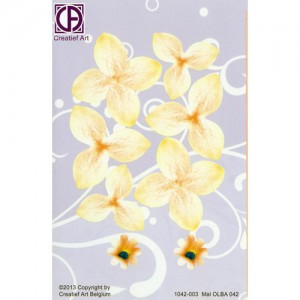 Floral Background Paper (STL042-003)