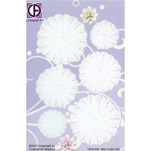 Floral Background Paper (STL043-003)