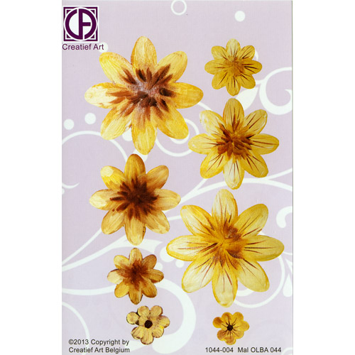Floral Background Paper (STL044-004)