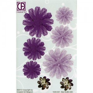 Floral Background Paper (STL045-001)