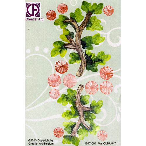 Floral Background Paper (STL047-001)