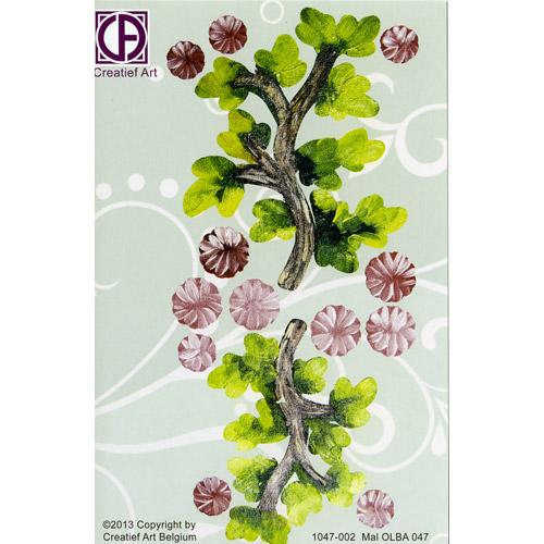 Floral Background Paper (STL047-002)