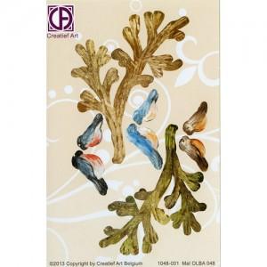 Floral Background Paper (STL048-001)