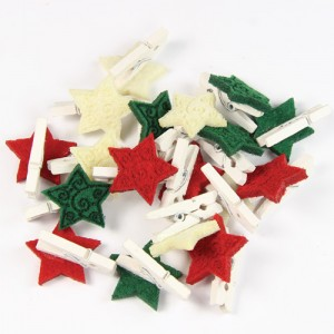 Stars with Pegs