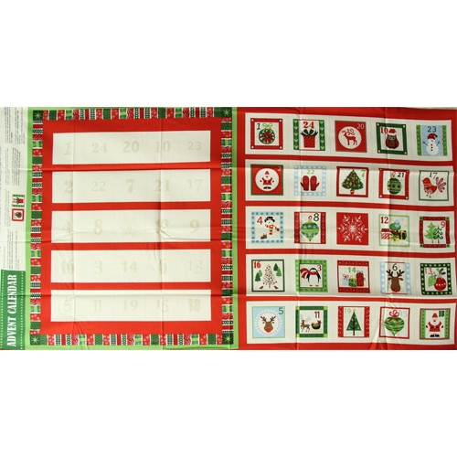 Novelty Square Christmas Advent Calender