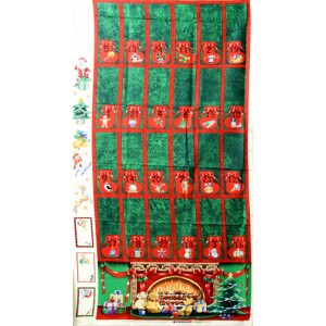 Easy Sew Fireplace Advent Calender