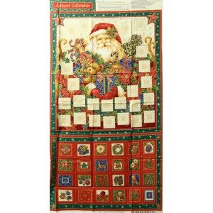 Large Santa Advent Calender