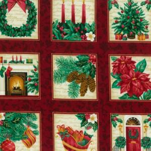 Ready For Santa Fabric Panels