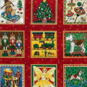The Toy Shop Fabric Panels