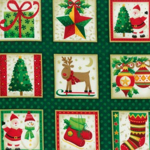 Ho! Ho! Ho! Fabric Panels