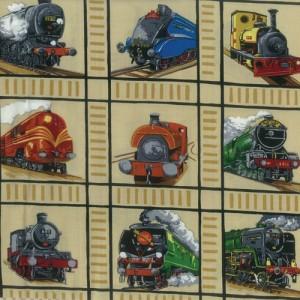 Fabric Panels Trains