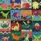 Fabric Panels Dinosaur