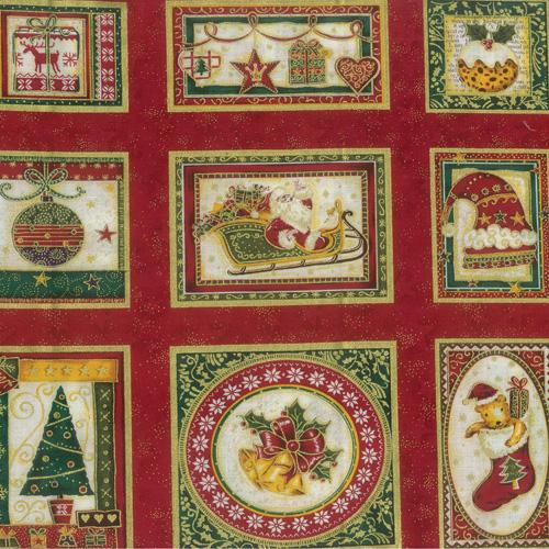 Scandi Fabric Panel