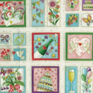 Celebration Fabric Panel