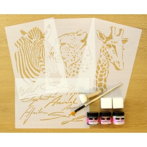 Out of Africa Home Decor Painting Kit