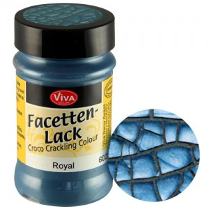 Crackle Paint Royal