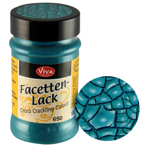 Crackle Paint Turquiose
