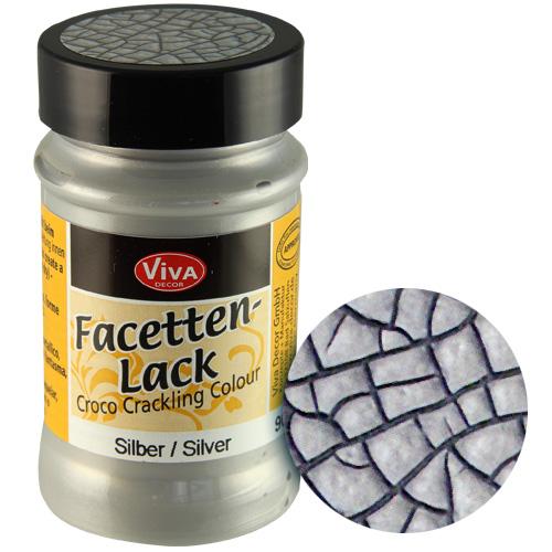 Crackle Paint Silver