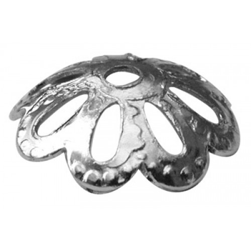 Medium Shallow Cap Silver