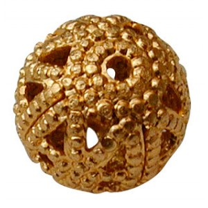 8mm Ball Gold
