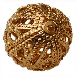 12mm Ball Gold