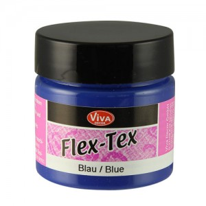 Flex-Tex Fabric Paint Blue