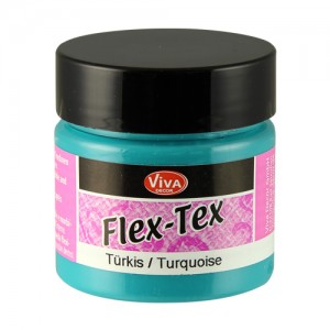 Flex-Tex Fabric Paint Turquoise